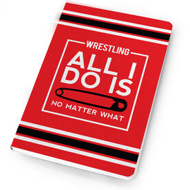 Wrestling Notebook All I Do Is Pin