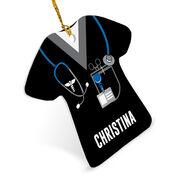 Personalized Ornament - Nurse Scrubs