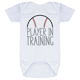 Baseball Baby One-Piece - Player In Training