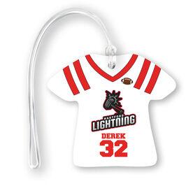 Football Jersey Bag/Luggage Tag - Custom Team Logo