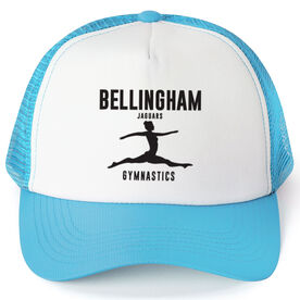 Gymnastics Trucker Hat - Team Name With Text