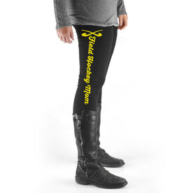 Field Hockey High Print Leggings Field Hockey Mom
