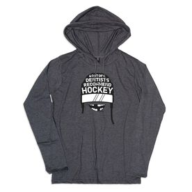 Men's Hockey Lightweight Hoodie - 4 Out of 5 Dentists Recommend Hockey