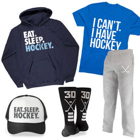 Heading to Practice Hockey Outfit