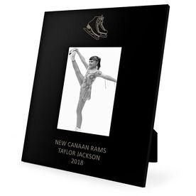 Figure Skating Engraved Picture Frame - Skates
