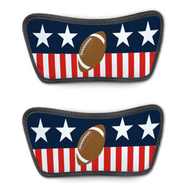 Football Repwell® Sandal Straps - Stars and Stripes