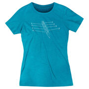Crew Women's Everyday Tee - Crew Row Team Sketch