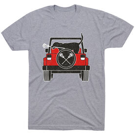 Guys Lacrosse Short Sleeve T-Shirt - Chillax Cruiser