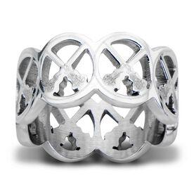 Stainless Steel Lacrosse Ring