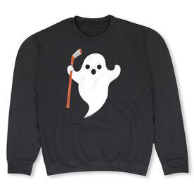 Hockey Crew Neck Sweatshirt - Hockey Ghost