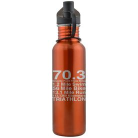 70.3 Math Miles 24 oz Stainless Steel Water Bottle