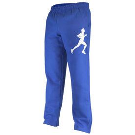 Running Fleece Sweatpants Male Runner