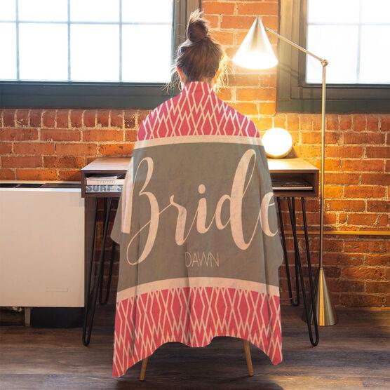 Personalized Premium Blanket - The Stylish Bride