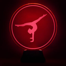 Gymnastics Acrylic LED Lamp Gymnast