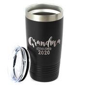 Personalized 20 oz. Double Insulated Tumbler - Grandma Established