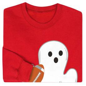 Football Crew Neck Sweatshirt - Football Ghost
