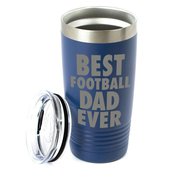Football 20 oz. Double Insulated Tumbler - Best Dad Ever