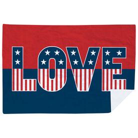 Premium Blanket - Patriotic Love