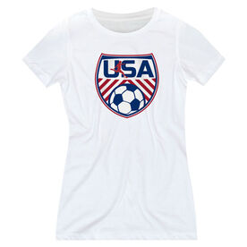 Soccer Women's Everyday Tee - Soccer USA
