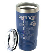 Cheerleading 20 oz. Double Insulated Tumbler - Cheerleading Father Words