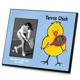 Tennis Photo Frame Tennis Chick
