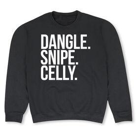 Hockey Crew Neck Sweatshirt - Dangle Snipe Celly