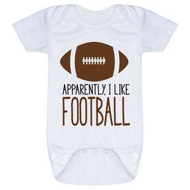 Football Baby One-Piece - I'm Told I Like Football