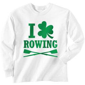 Crew Tshirt Long Sleeve I Shamrock Rowing
