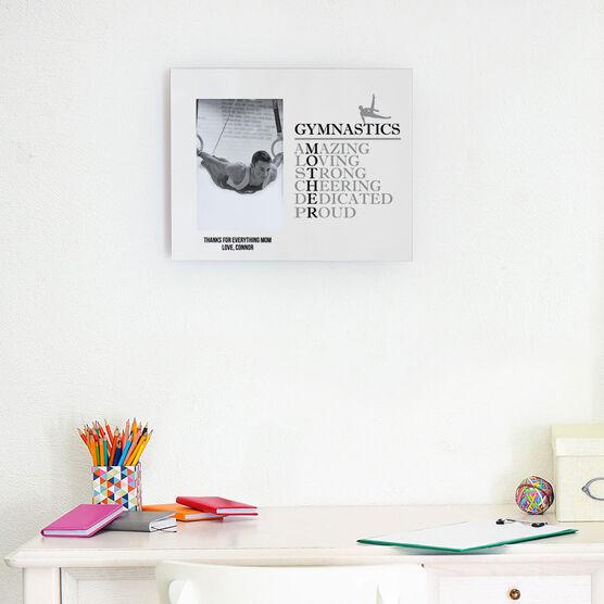 Gymnastics Photo Frame - Mother Words (Guy Gymnast)