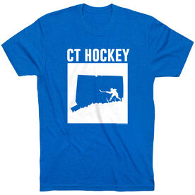 Hockey Tshirt Short Sleeve Connecticut Hockey