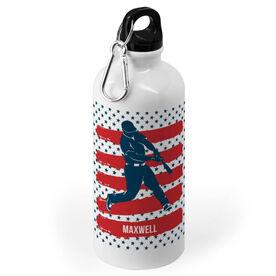 Baseball 20 oz. Stainless Steel Water Bottle - USA Batter