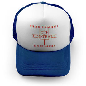 Football Trucker Hat - Personalized Crest