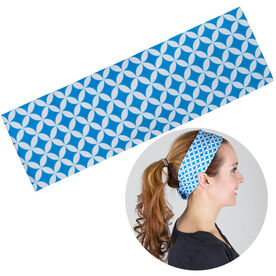 RunTechnology Tempo Performance Headband - Clara Blue