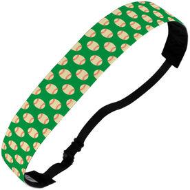 Baseball Juliband No-Slip Headband - Baseball Pattern