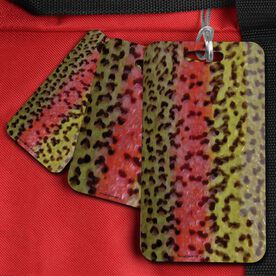 Fly Fishing Bag/Luggage Tag Rainbow Trout