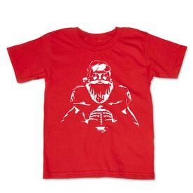 Football Toddler Short Sleeve Tee - Santa Player