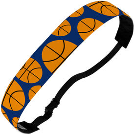 Basketball Julibands No-Slip Headbands - Tossed Ball Pattern