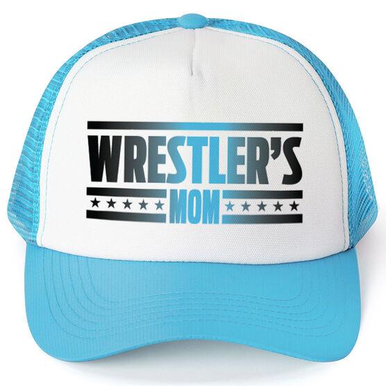 Wrestling Trucker Hat Wrestlers Mom