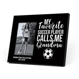 Soccer Photo Frame - Grandma's Favorite Player