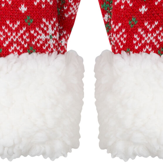 Running Sherpa Mittens - Ugly Sweater