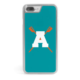 Crew iPhone® Case - Crossed Oars With Initial