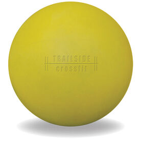 Custom Engraved Logo Trigger Point Massage Therapy Ball (Yellow Ball)