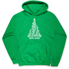 Lacrosse Standard Sweatshirt - Merry Laxmas Tree