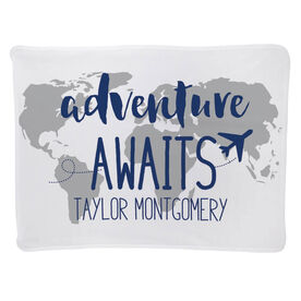 Personalized Baby Blanket - Adventure Awaits