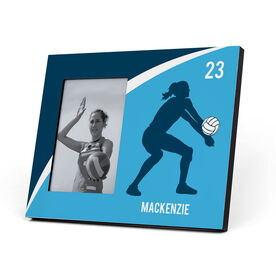 Volleyball Photo Frame - Personalized Girl Player