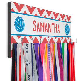 Volleyball Hook Board Volleyball Your Name with Chevron
