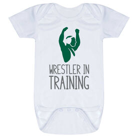 Wrestling Baby One-Piece - Wrestler In Training