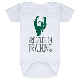 Wrestling Baby One-Piece - Wrestler In Training