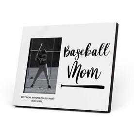 Baseball Photo Frame - Baseball Mom Script