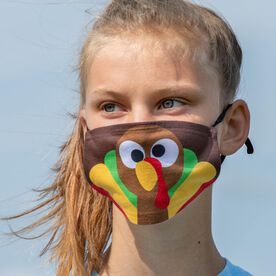 Face Mask - Goofy Turkey